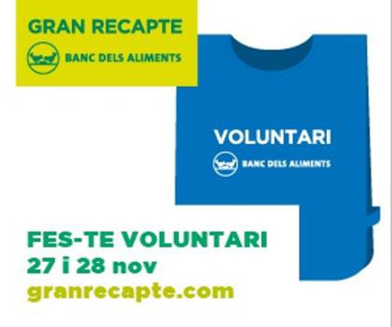 Voluntaris pel GRAN RECAPTE